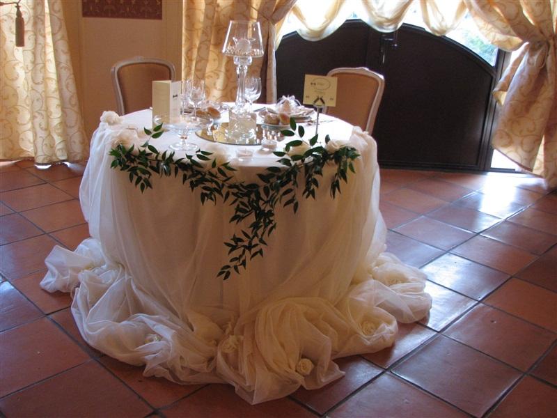 Come addobbare il tavolo degli sposi organizzazione matrimonio