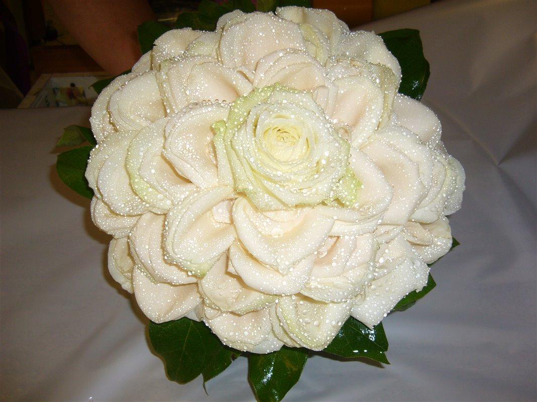 Estremamente Rosa gigante di petali - La Boutique del Fiore - Grottaferrata PI32